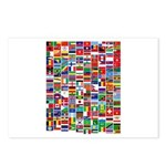 Parade of Nations Postcards (Package of 8)