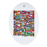 Parade of Nations Oval Ornament (Oval)