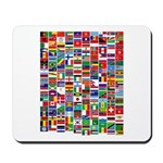 Parade of Nations Mousepad