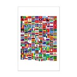 Parade of Nations Mini Poster Print