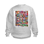 Parade of Nations Kids Sweatshirt