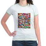 Parade of Nations Jr. Ringer T-Shirt