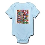 Parade of Nations Infant Bodysuit