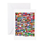 Parade of Nations Greeting Cards (Pk of 10)