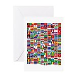Parade of Nations Greeting Card