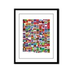 Parade of Nations Framed Panel Print