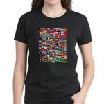 Parade of Nations Women's Dark T-Shirt