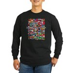 Let the Games Begin Long Sleeve Dark T-Shirt