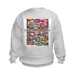 Let the Games Begin Kids Sweatshirt