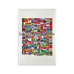 Let the Games Begin Rectangle Magnet (100 pack)