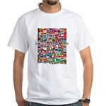 Let the Games Begin White T-Shirt