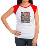 Let the Games Begin Women's Cap Sleeve T-Shirt