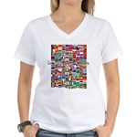 Let the Games Begin Women's V-Neck T-Shirt