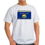 Montana State Flag Light T-Shirt