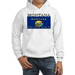 Montana State Flag Hooded Sweatshirt