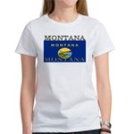 Montana State Flag Women's T-Shirt