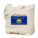 Montana State Flag Tote Bag