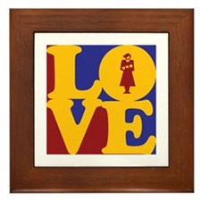 Midwifery Love Framed Tile
