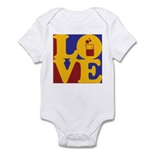 Microbiology Love Infant Bodysuit