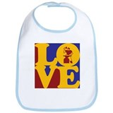 Metal Working Love Bib