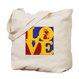 Metal Working Love Tote Bag