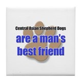 Central Asian Shepherd Dogs man's best friend Tile