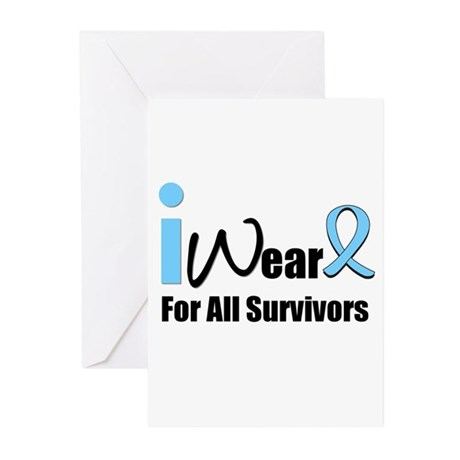 Prostate Cancer Survivors Greeting Cards (Pk of 10