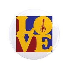 "Mandolin Love 3.5"" Button (100 pack)"