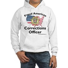 Proud American Corrections Officer Hoodie