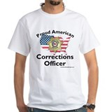 Proud American Corrections Officer Shirt