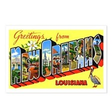 New Orleans Louisiana Greetings Postcards (Package