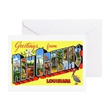 New Orleans Louisiana Greetings Greeting Cards (Pk