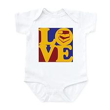 Library Work Love Infant Bodysuit