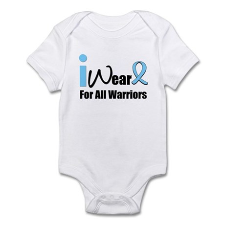 Prostate Cancer Warrior Infant Bodysuit