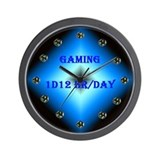 1D12 Wall Clock