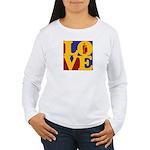 Kindergarten Love Women's Long Sleeve T-Shirt