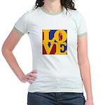 Kindergarten Love Jr. Ringer T-Shirt