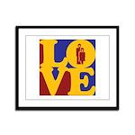 Kindergarten Love Framed Panel Print