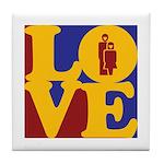 Kindergarten Love Tile Coaster