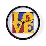 Kindergarten Love Wall Clock