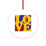 Kindergarten Love Ornament (Round)