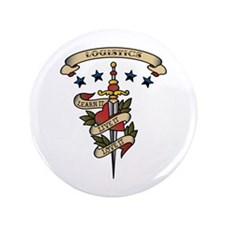 "Love Logistics 3.5"" Button (100 pack)"