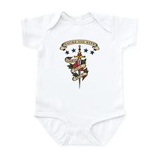 Love Locks and Keys Infant Bodysuit