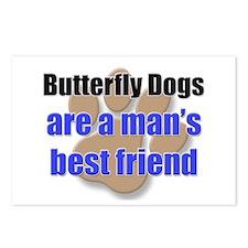 Butterfly Dogs man's best friend Postcards (Packag