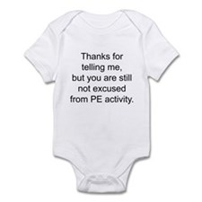 Thanks for telling me. Infant Bodysuit
