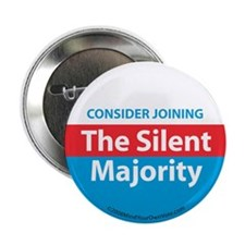 "Join the Silent Majority 2.25"" Button (10 pack)"