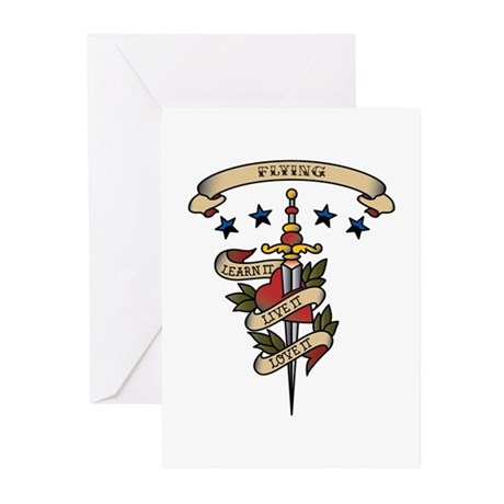 Love Flying Greeting Cards (Pk of 10)
