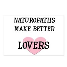 Naturopaths Make Better Lover Postcards (Package o