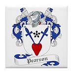 Pearson Family Crest Tile Coaster