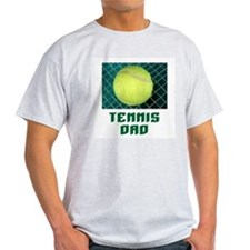 Tennis Dad Ash Grey T-Shirt